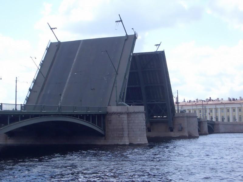 Drawn bridge