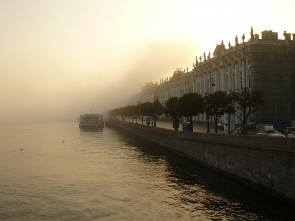 Fog in St Petersburg