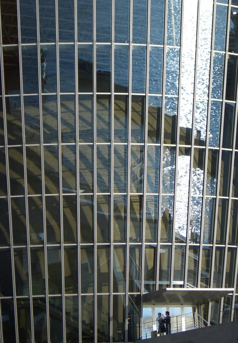 Osaka Port Japan reflection osaka-ko