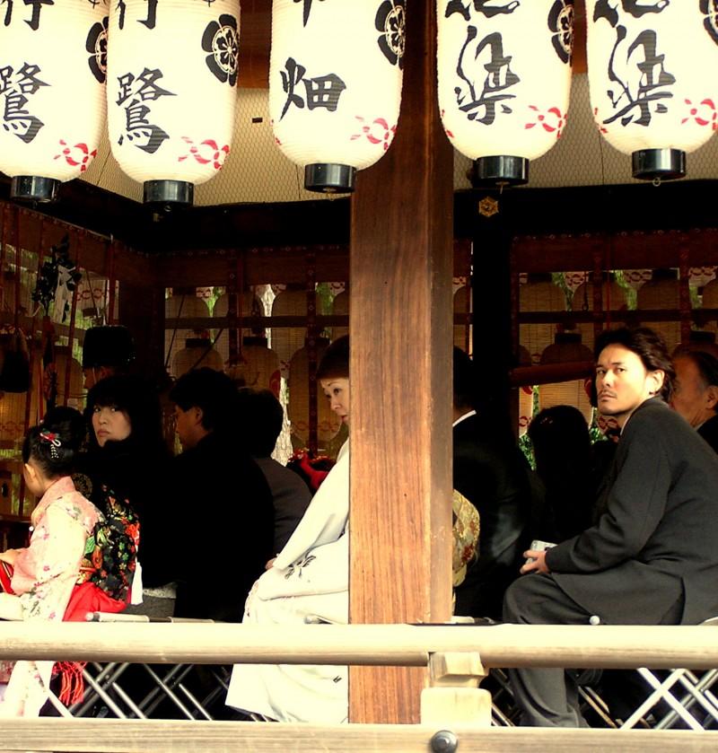 Shichi-go-san ceremony Yasaka Kyoto