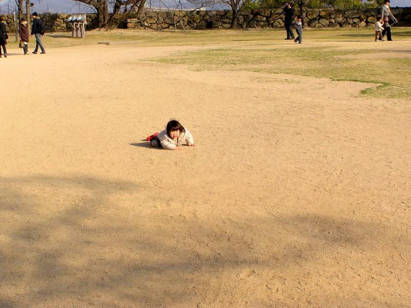 girl children himeji hyogo japan park