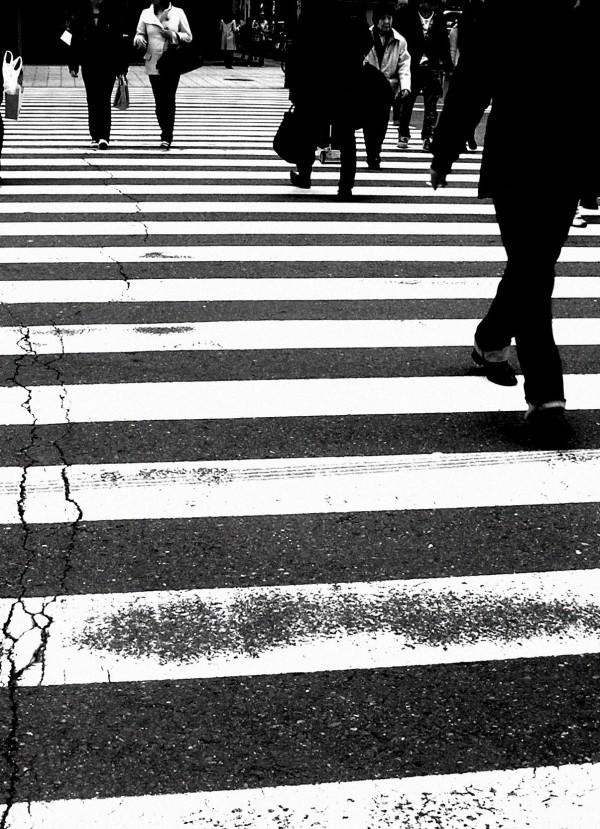 Street Crossing, Umeda