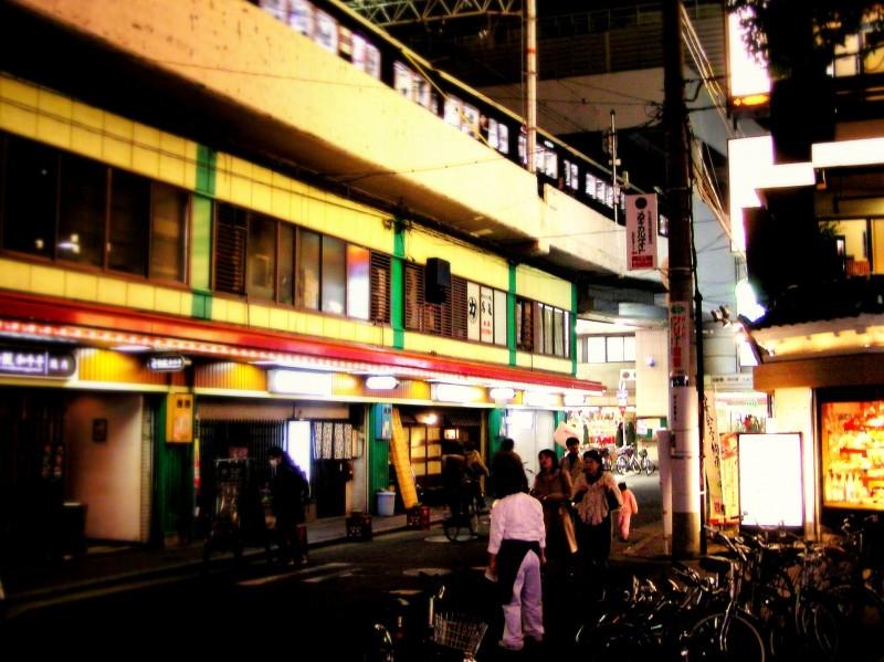 umeda osaka japan train street