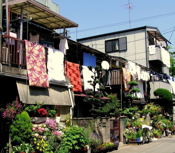 futon house Japan Amagasaki