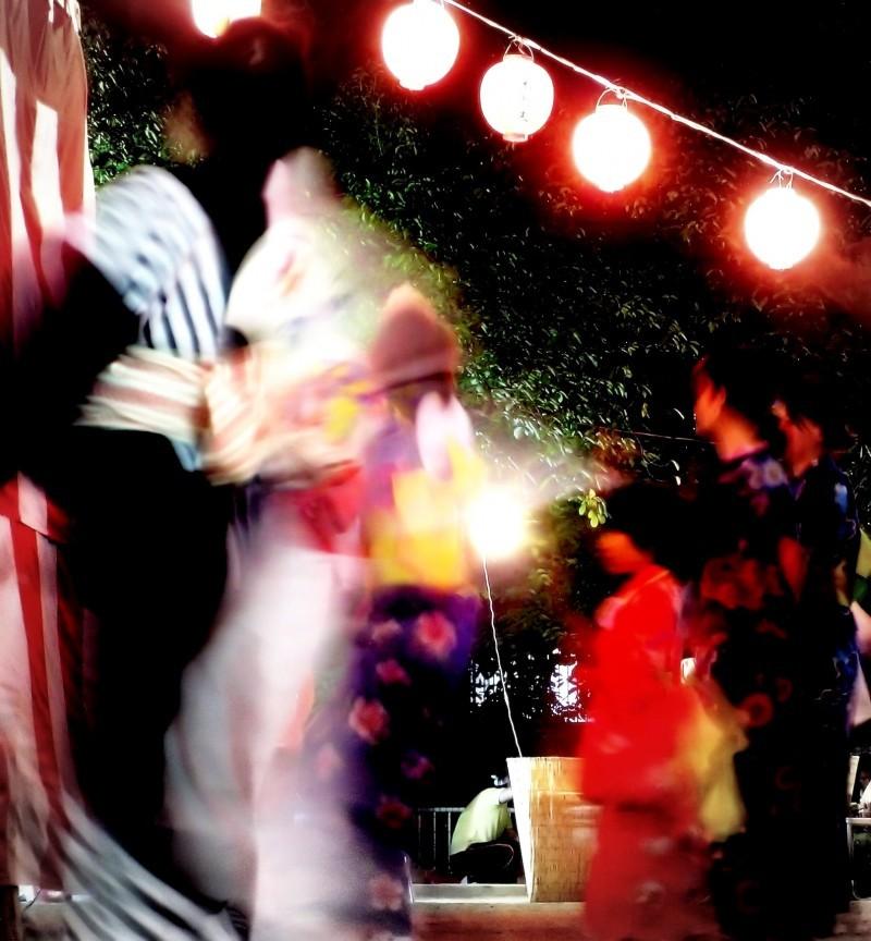Japan Sonoda Amagasaki summer dance festival