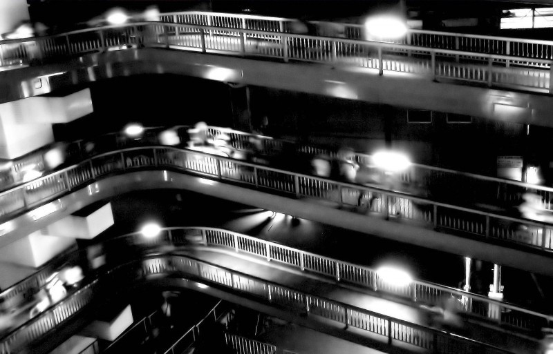 bridge stairs maishima osaka japa