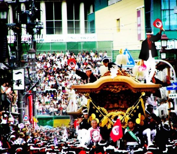 matsuri osaka danjiri kishiwada japan festival