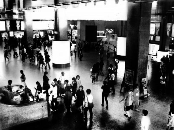 station osaka umeda hankyu japan