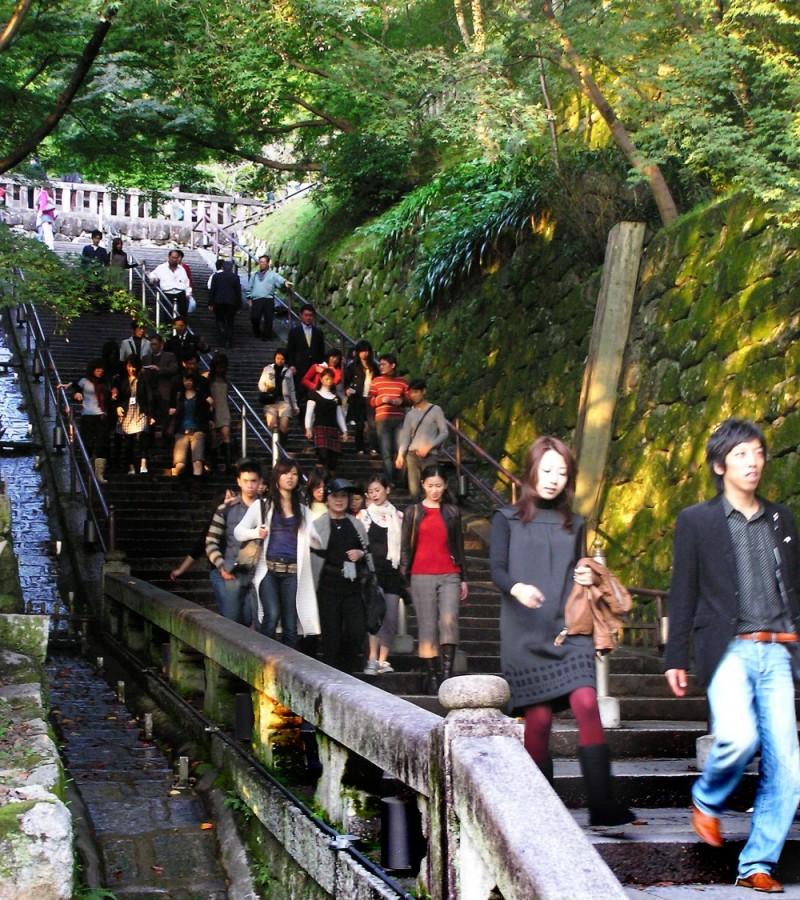 Kiyomizu-dera Japan, Kyoto steps