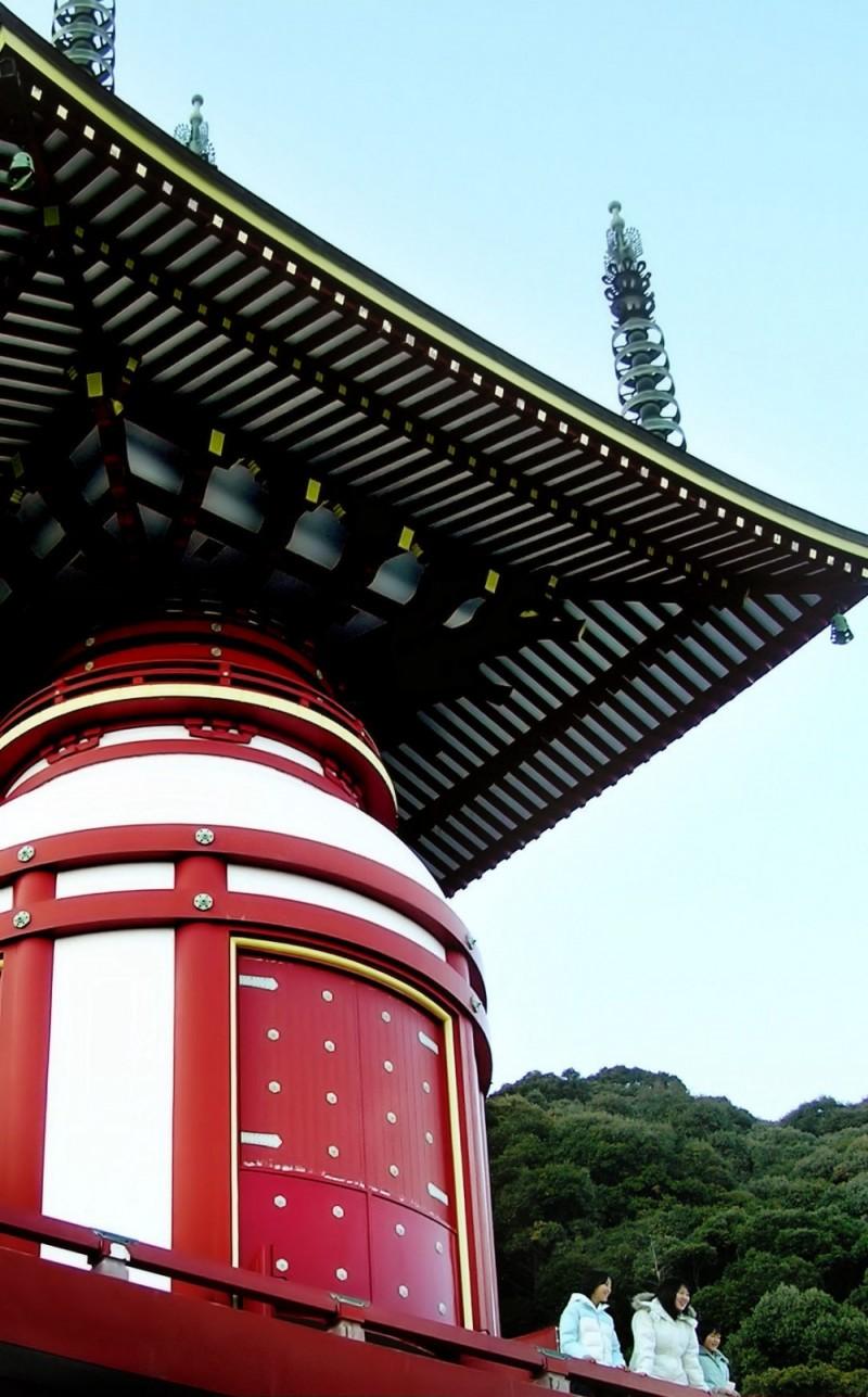Yakuoji temple, Hiwasa, Tokushima