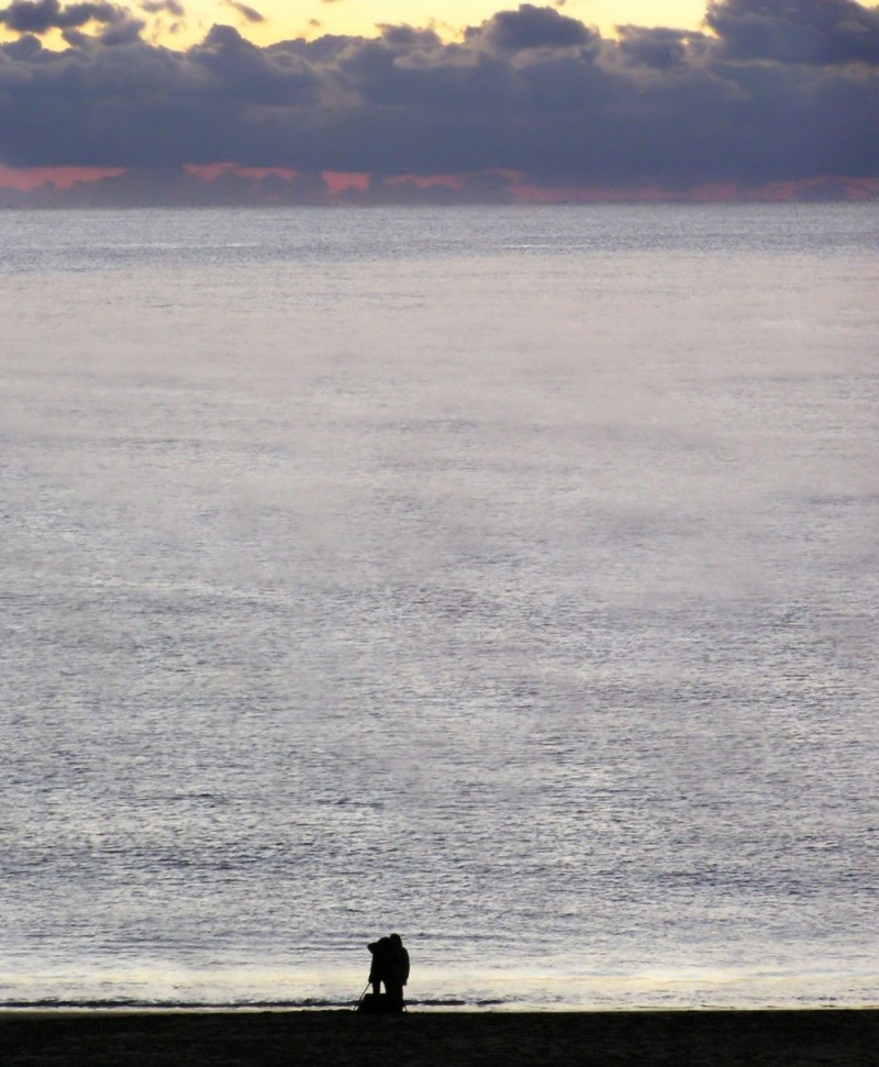 Hiwasa Ohama beach sunrise photographers