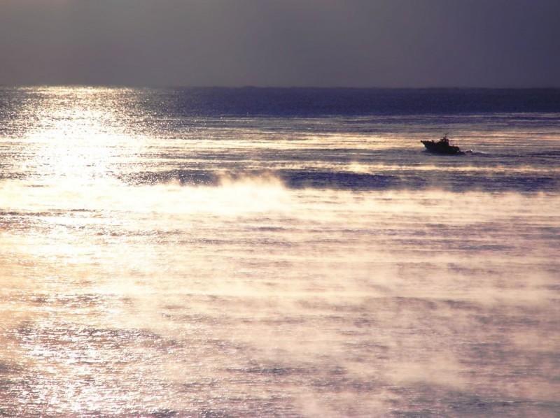 sunrise Ohama beach Hiwasa Tokushima boat