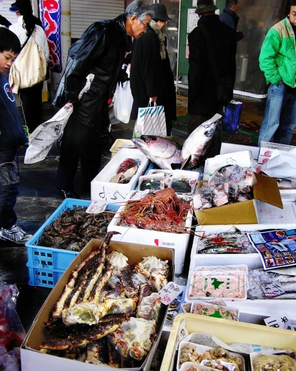 Fish Stall, Kochi Street Market