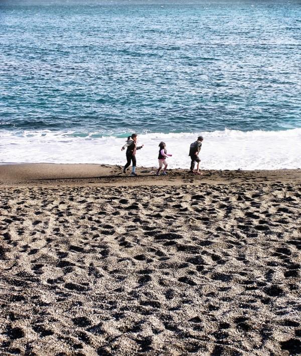 Katsurahama beach Kochi children japan shikoku