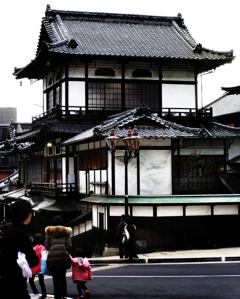 Dogo Onsen, Matsuyama japan shikoku