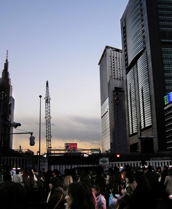 Shinjuku, Sundown