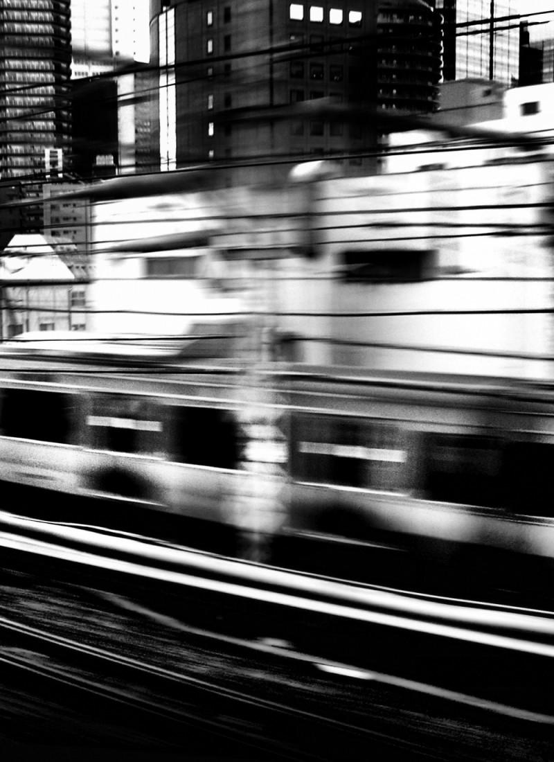 Tokyo train subway