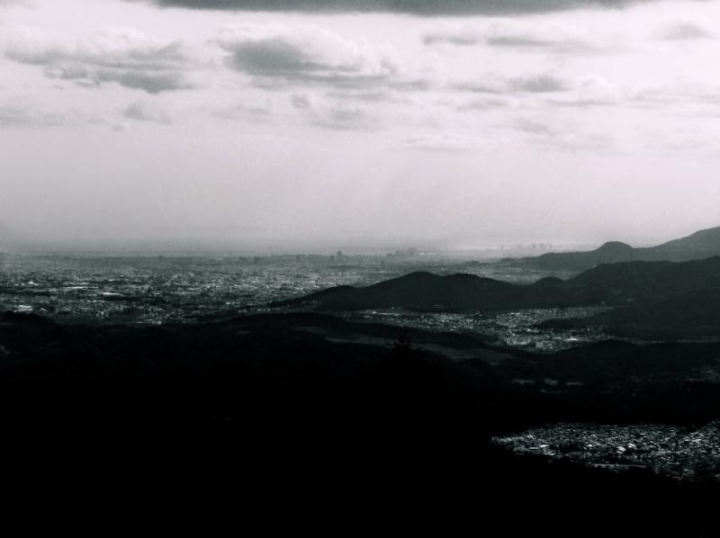 View Osaka Bay Mount Myoken Kawanishi Hyogo