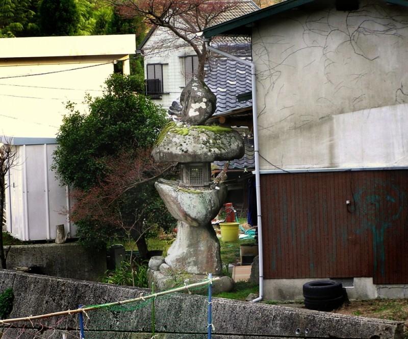 Mount Myoken, Kawanishi, Hyogo, Osaka lantern