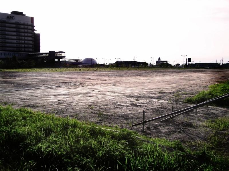 Osaka Cosmo-Square vacant-lot Japan