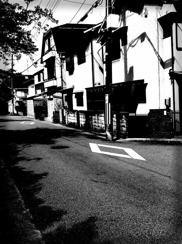 street nishinomiya hyogo japan house uegahara