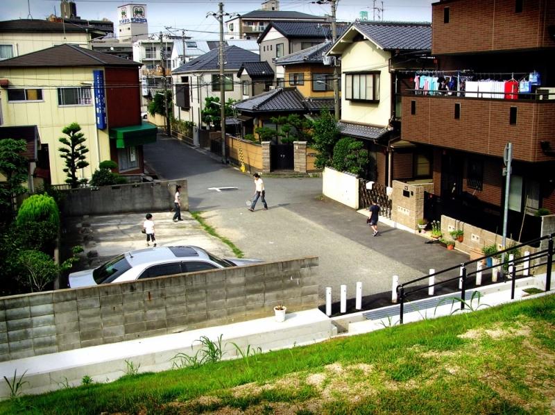 family hyogo amagasaki sonoda japan mogawa river
