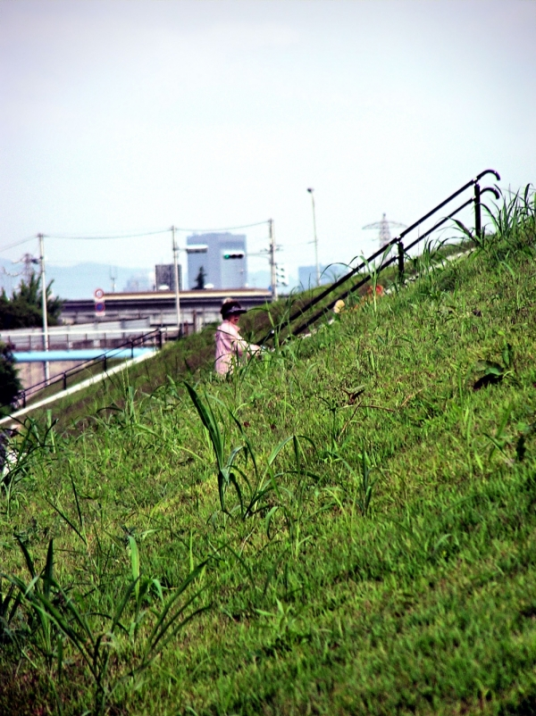 hyogo amagasaki sonoda japan mogawa river steps