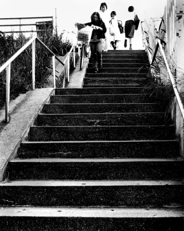 Sonoda neighbourhood steps Mogawa street