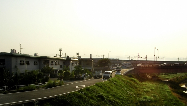 road river hyogo japan amagasaki sonoda mogawa