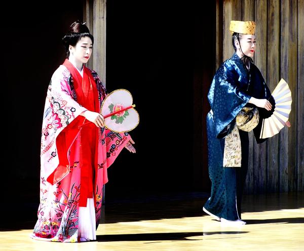Dancers, Shuri Castle 2