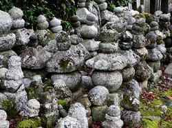Adashino Nenbutsu-ji Arashiyama Kyoto statue Japan