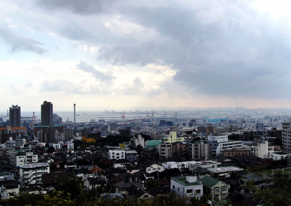 Kobe Hyogo Rokko city view Japan