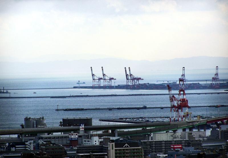 Kobe Hyogo Rokko port view Japan