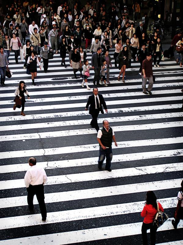 Street Crossing, Umeda 2