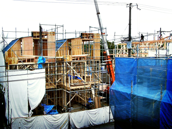 construction house building Konakajima Amagasaki
