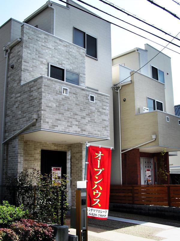 house new Konakajima Amagasaki Japan