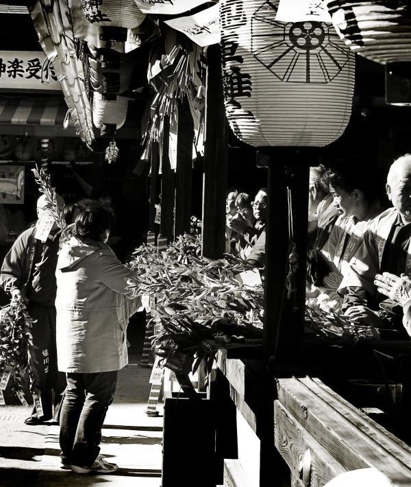 Ebisu Shrine, New Year's Day 7