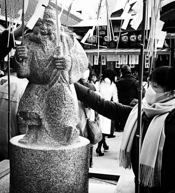 Ebisu Shrine, New Year's Day 9