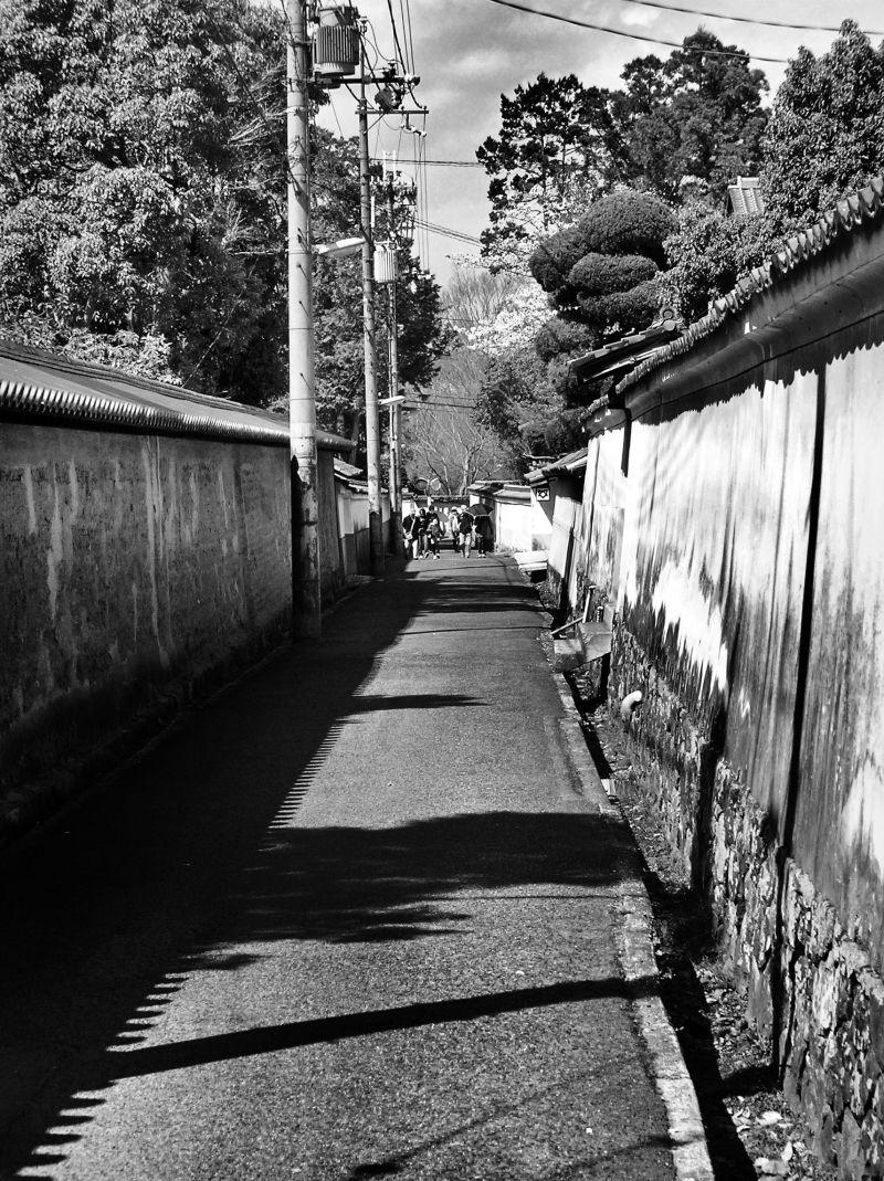 Nara street wall Japan