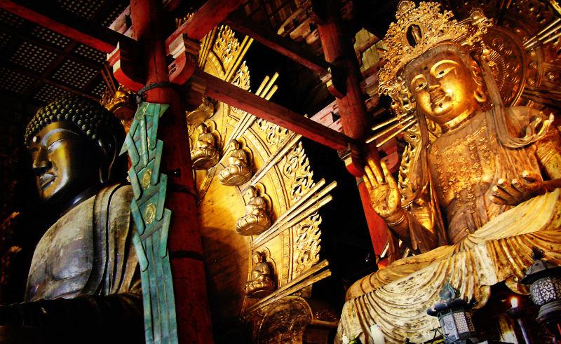Todaiji temple Nara Japan Daibutsu Buddha