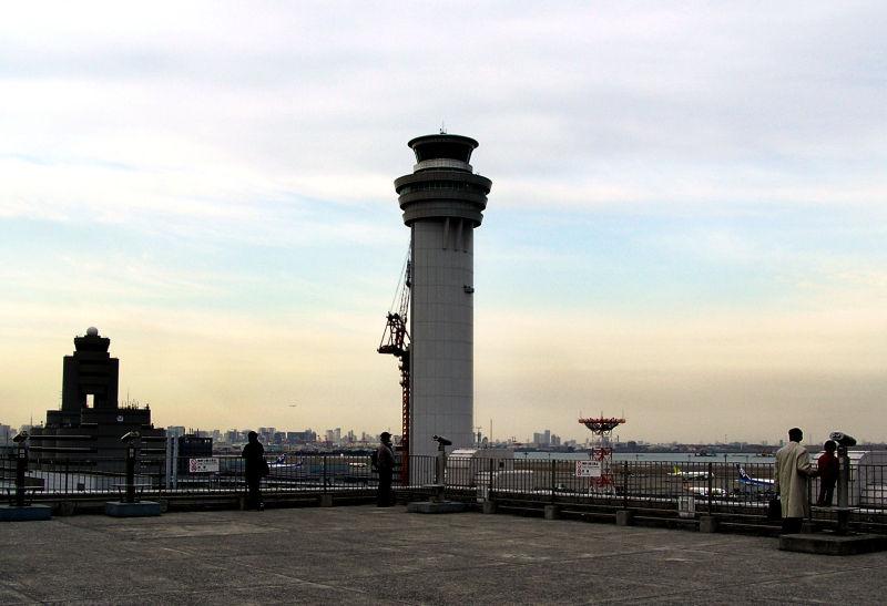 Haneda airport Tokyo Japan tower