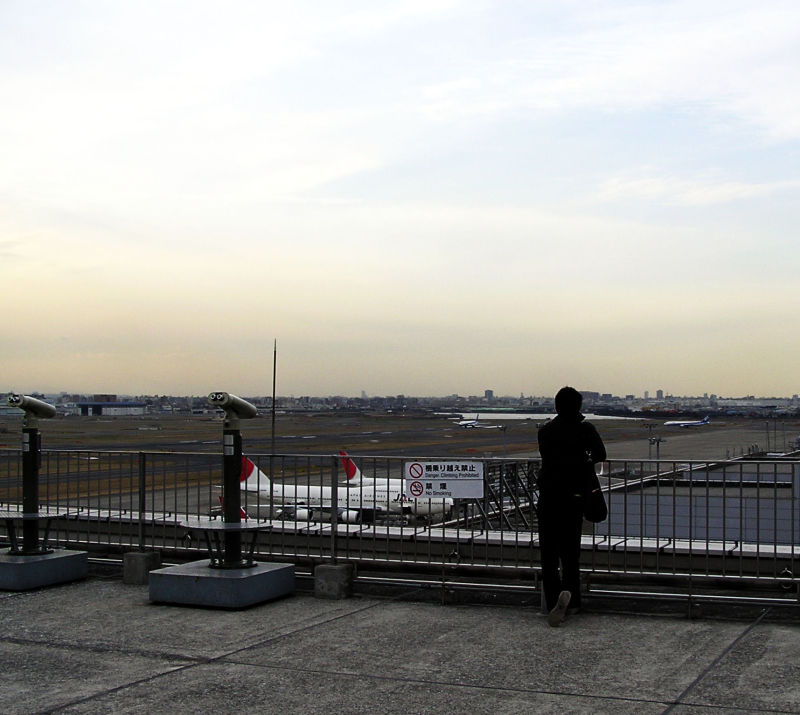 Haneda airport Tokyo Japan