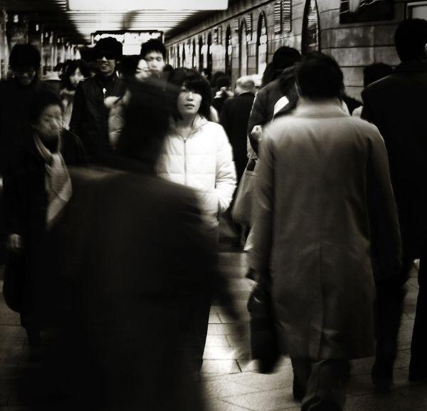 Hankyu Umeda Osaka Japan station walkway