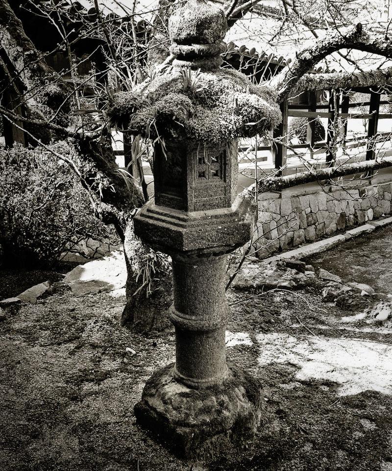 Kibitsu Shrine, Okayama Japan lantern