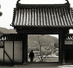Bitchu-Kokubunji Okayama Japan temple Kibi gate