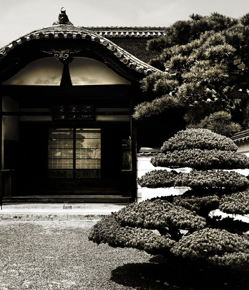 Bitchu-Kokubunji Okayama Japan temple Kibi hall