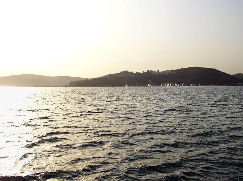 Ushimado Okayama Japan Seto-Naikai sea boat island