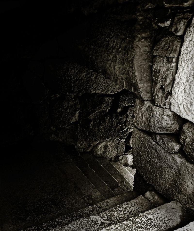 Himeji Castle Japan steps corridor