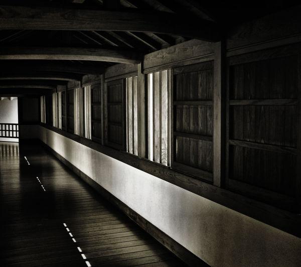 Exploring Himeji Castle 3