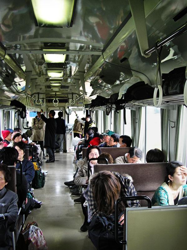 Toyama railway train passenger Japan